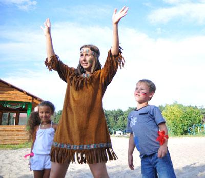 Харьков индейцы на празднике