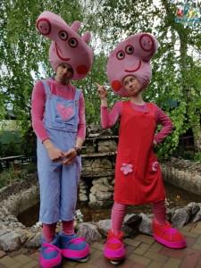 Приключение свинок Пеппа и Джордж