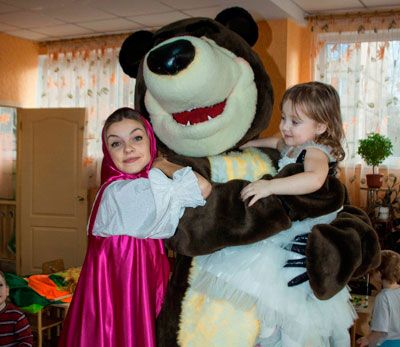 Заказать машу и медведь в Харькове