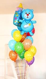 шарики новорожденым