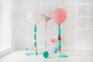 шары гиганты с декором
