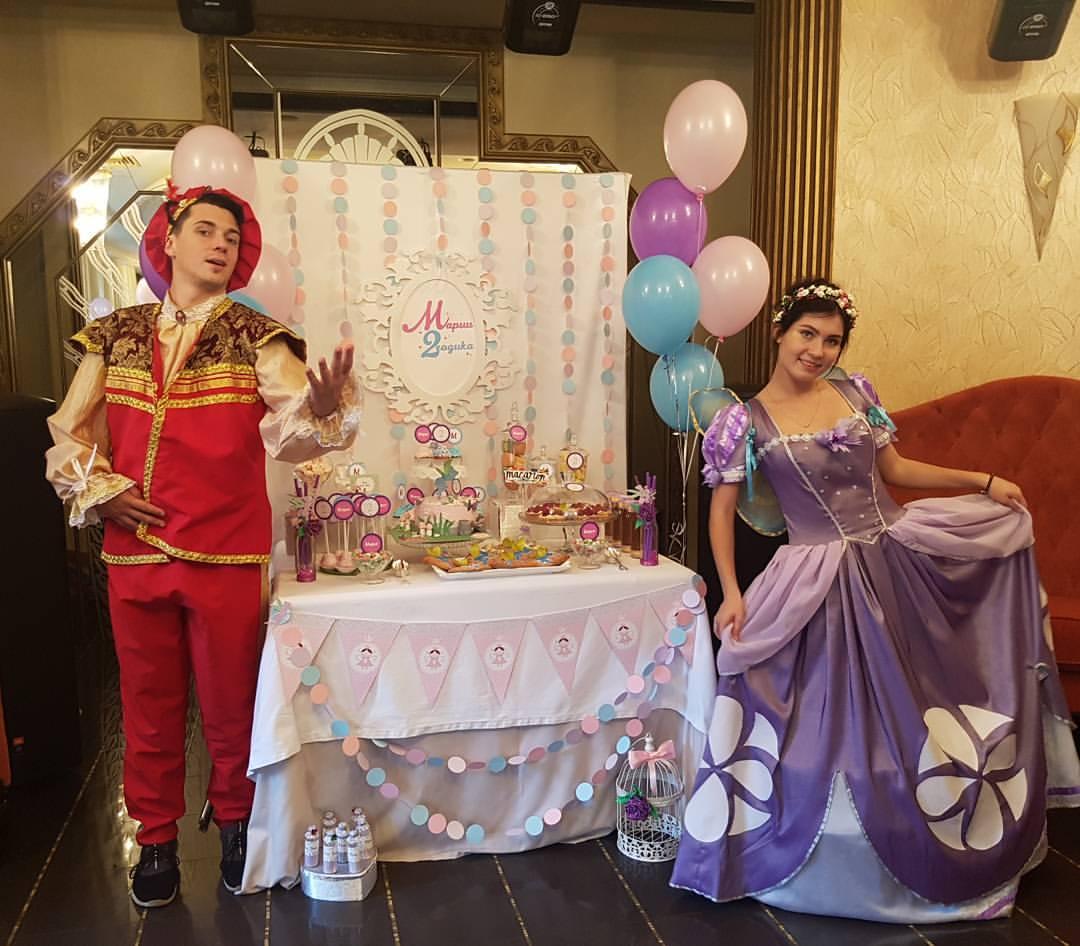 Сценарий для дня рождения в стиле принцесс