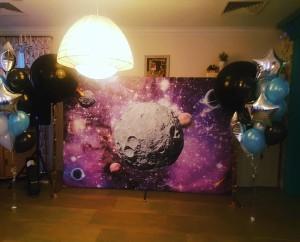 баннер космос