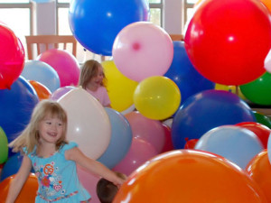 Шоу гигантских шаров