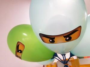 воздушные шары нинзяго