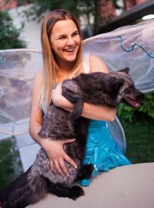детский праздник с животными