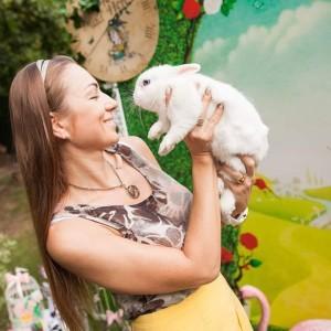 контактный зоопарк кролик
