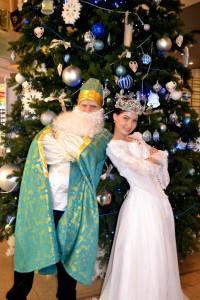 Детский праздник Святой Николай и Снежная Королева