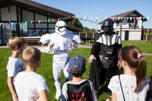 детский праздник Звездные Войны