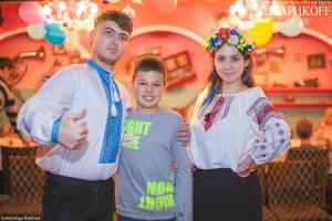 детский праздник в украинском стиле