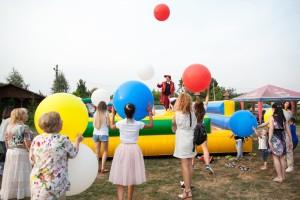 шоу гигантских шаров Харьков