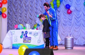 научное шоу молекула шоу