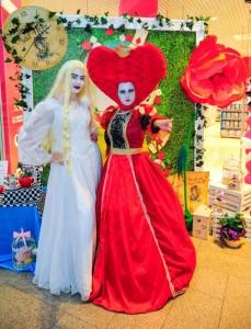 Алиса в Стране чудес аниматоры на праздник