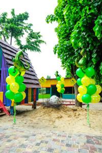 Парк юрского периода детский праздник