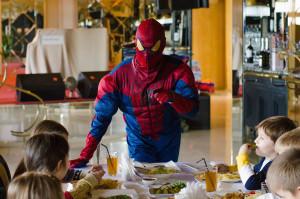 Детский праздник в стиле Спайдермен