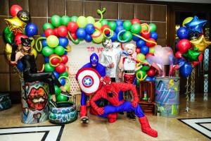 Детский праздник с супергероями