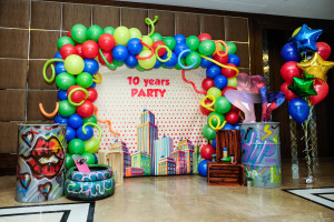 Фото зона на детский праздник