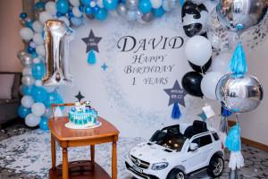 детский праздник первый годик