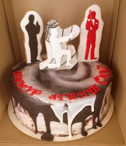 торт агенты 007