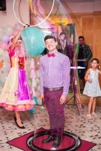 шоу мыльных пузырей в Харькове