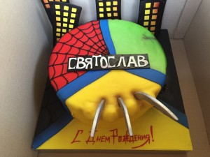 cakespiderman