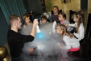 научное мороженное для детей