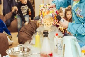 научное шоу для детей Харьков