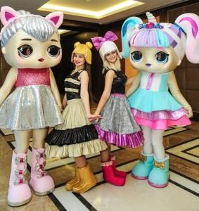 ростовые куклы лол
