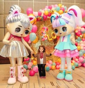 ростовые куклы LOL