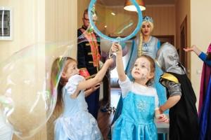 детский мастер класс по мыльным пузырям