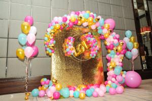 Каскадная фотозона из шаров
