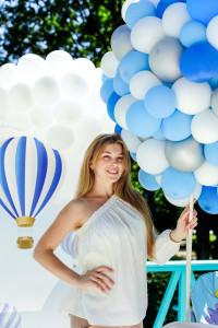 воздушный шар из шаров