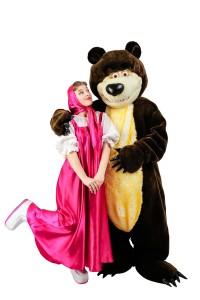 детский день рождения Маша и Медведь (1)