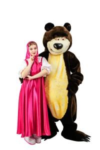 детский день рождения Маша и Медведь (2)