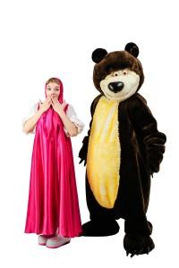 детский день рождения Маша и Медведь (4)