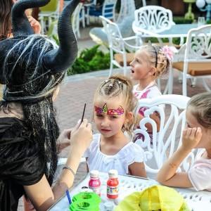 детский праздник в стиле Малифисента