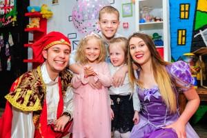 детский праздник принцесса София и принц-min
