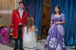 принцесса и принц дисней аниматоры (2)