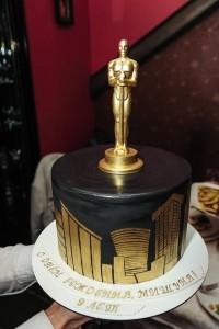 торт в стиле премия Оскар