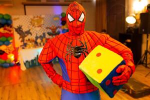 Спайдермен на детский праздник