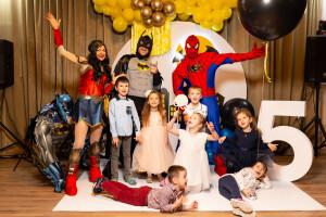 Супер день рождения супергерои