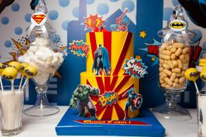 Торт в стиле Супергерои