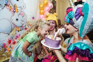 детский праздник с Куклами Лол