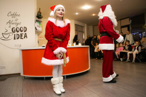 Санта Клаус и Миссис Клаус Харьков