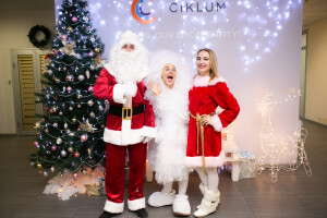 Санта Клаус и Миссис Клаус