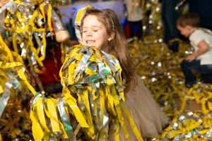 супер бумажное шоу для детского праздника