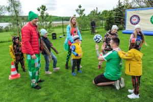 футбольный праздник для детей