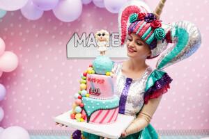 Торт куколки лол