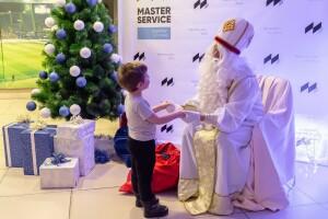 Новогодний праздник со Святым Николаем