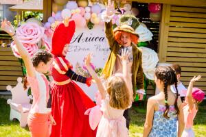 день рождения в стиле Алиса в стране чудес